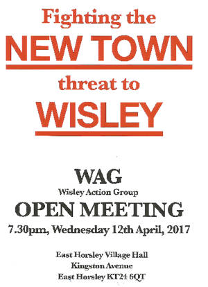 Wisley Open Meeting 12 April 2017 at 7:30pm